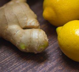 Sitron- ingefær